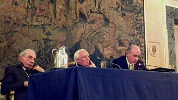 """Jorge Fernández Díaz ha intervenido en la conferencia """"Religión y Espacio Público"""" en la Embajada de España ante la Santa Sede"""